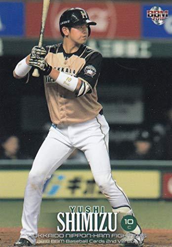 2018 BBM ベースボールカード 2ndバージョン 350 清水 優心 北海道日本ハムファイターズ (レギュラーカード)