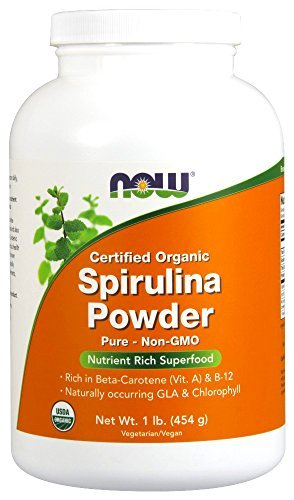 Now Foods ORGANIC SPIRULINA POWDER 1LB