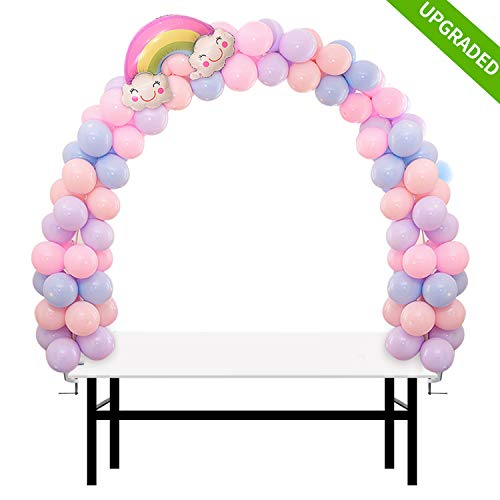 IDAODAN Table Balloon Arch Kit Adjustable [2019 UPGRADED] for Baby Shower, Birthday, Wedding, Festival, Graduation Decorations and DIY Event Party -