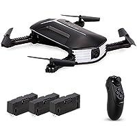 Goolsky H37 Mini Drone With 720P Camera Live Video Selfie Foldable G-Sensor RC