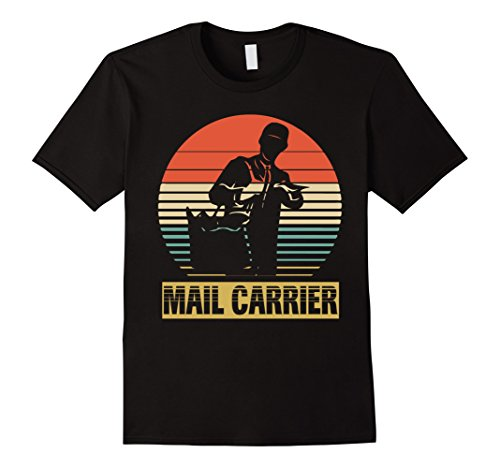 Vintage Shirt For Mail Carrier. Birthday Gifts Ideal