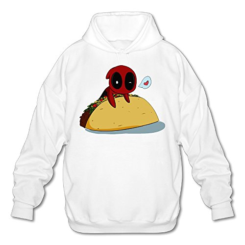 SAMMOI Ultimate Spider-Man Men's Sport Hoodies S White