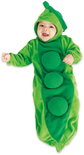 [Rubie's Pea In The Pod Baby Bunting Costume] (Childrens Food Halloween Costumes)