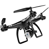 Owill 2.4G RC Quadcopter Adjustment 720P HD Camera RC Drone FPV Quadcopter,the Flying Time is About 18-22Min (Black)