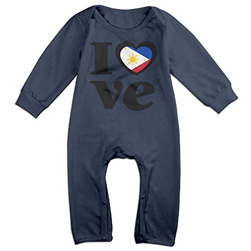 Newborn Kids Jumpsuit Love Philippines Baby Rompers -
