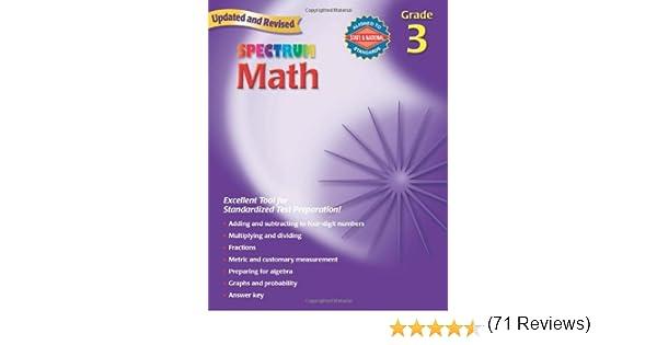 Spectrum Math, Grade 3: Thomas Richards: 0087577913933: Amazon.com ...