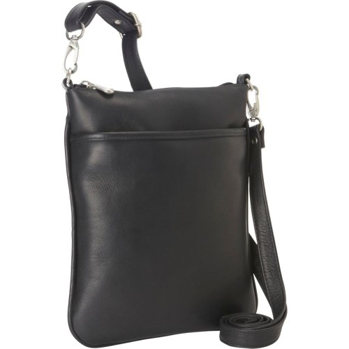 Le Donne Leather Ipad Mini Xbody Bag (Black), Bags Central