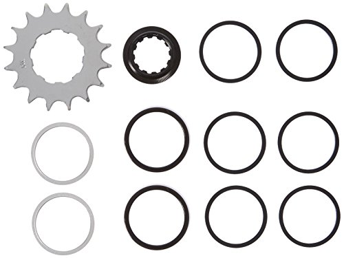 Wheels Manufacturing One Speed Conversion Set with 16T Cog, Black ()
