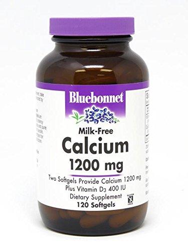 BlueBonnet Calcium Plus Vitamin D3 Softgels, 1200 mg, 120 Count