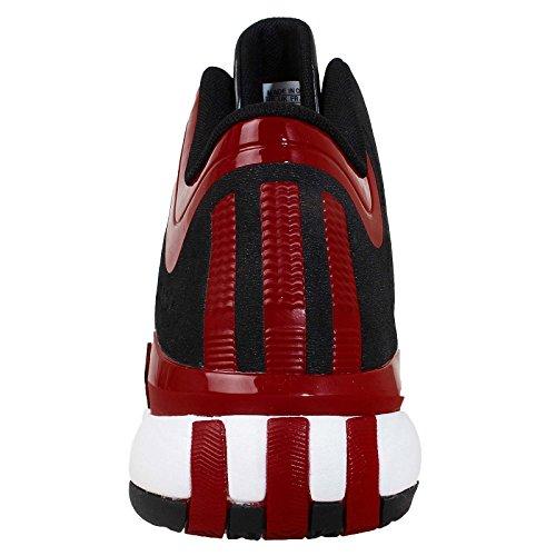 ADIDAS - Scarpe alte ADIDAS Patike D ROSE 773 III J in pelle nera e rossa C75801 - C75801 - 35, Rosso e Nero