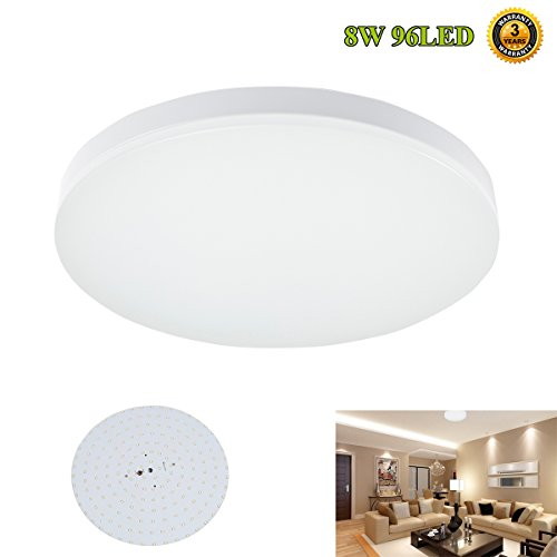 Su0026G 9.6 Inch LED Ceiling Lights 8w 4000k(Neutral White) 650 750lm Flush  Mount Bedroom Ceiling Lights Dining Room Lighting Fixtures