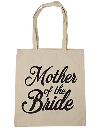 10 HippoWarehouse Gym Tote the 42cm Mother Beach Shopping Natural Bag Bride litres x38cm of 4rqx6wY4