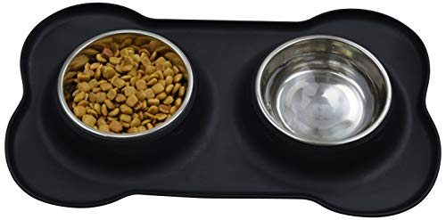 3800b67a2987 The JDP Co. Travel Dog Food Container with Detachable Travel Dog Bowls (Dog  Bowl with Silicone Mat)