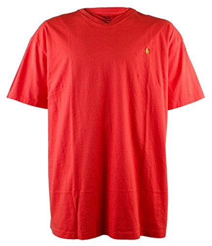 Polo Ralph Lauren Men's Big and Tall Classic-Fit V-Neck Tee T-Shirt-RR-2XLT