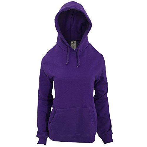 B&C - Sudadera con capucha para mujer Púrpura