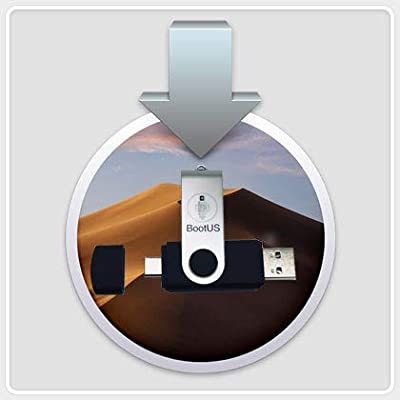 macOS Mojave - Full OS Install - Reinstall / Recovery / Upgrade or Repair Bootable Utility USB, USB Type-C / Thunderbolt 3 Drive