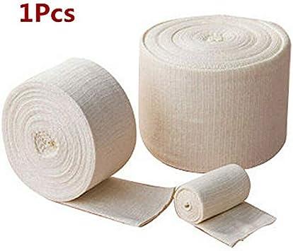 Cinta tubular elástica, cinta deportiva de algodón SENRISE, vendaje elástico y transpirable para apoyo de las articulaciones de la muñeca (paquete de 1), blanco: Amazon.es: Bricolaje y herramientas