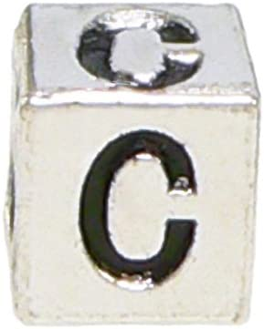 pandora charm block letters
