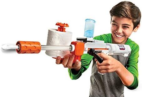 Jakks 61734-11L - Toilet Paper Blaster Skid Shot, verwandelt Klopapier in Papierkügelchen zum Schießen, Reichweite bis zu 9 m, spaßiges Outdoor Game für Groß und Klein, ab 8 Jahre