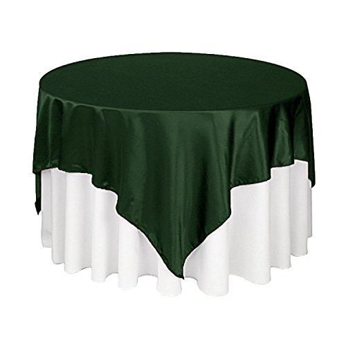 (Zen Creative Designs Luxury Satin Table Cloth/Overlay, Square & Rectangle (60