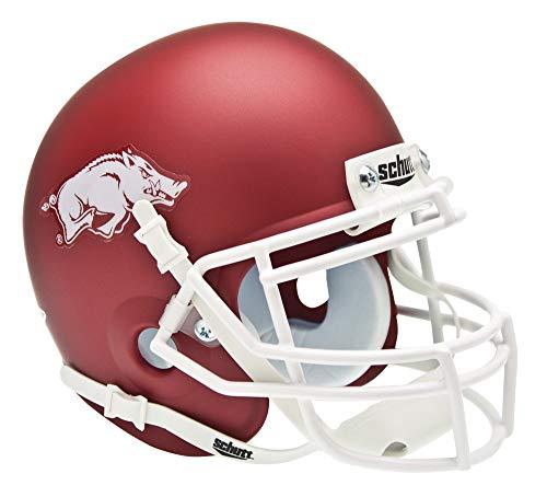 NCAA Arkansas Collectible Mini Football Helmet