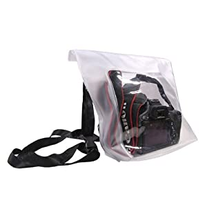 Venterior Waterproof Case Rain Snow Sand Dust Proof Housing Bag for Canon Nikon Camera DSLR SLR