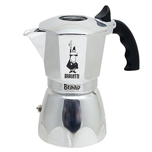 Bialetti 06835 Brikka Stovetop Espresso Maker, 4-Cup (Express Bialetti Mukka)