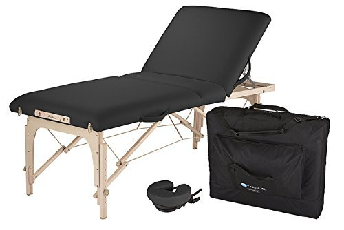 EARTHLITE Avalon XD Massage Therapy Table Package Flat - Premium Value & Style, Professional Massage Table Portable incl. Flex-Rest Face Cradle and Carry Case - Massage Package