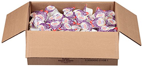 NESTLE COFFEE-MATE Coffee Creamer, Italian Sweet Crème, 0.375oz liquid creamer singles, Pack of 180