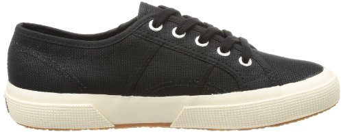 Superga Gs Adulto Unisex Classic Zapatillas Cotu Negro black 2750 rAv68qr