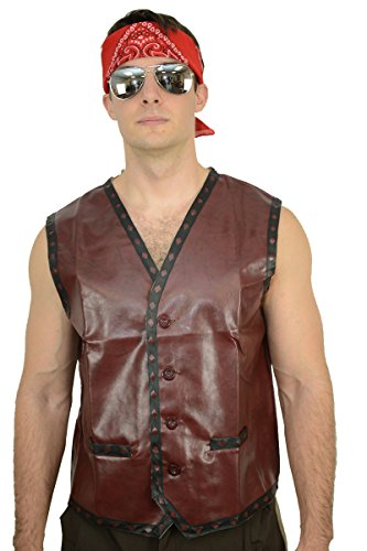 The Warriors Vest Waistcoat Mezco Furies Party Costume (Standard)