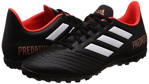 Red Noir Tf blanc core Football Homme Adidas 18 4 ftwr Chaussures Tango Noir solar Black White rouge Predator De 7nfFRU