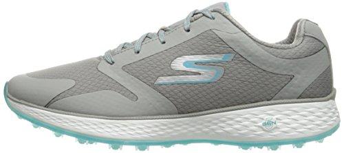 Skechers Performance Women's Go Golf Birdie Golf Shoe,Blue/Charcoal Mesh,9 M US by Skechers (Image #5)