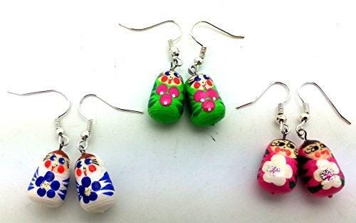 Nesting Doll Earrings - 4