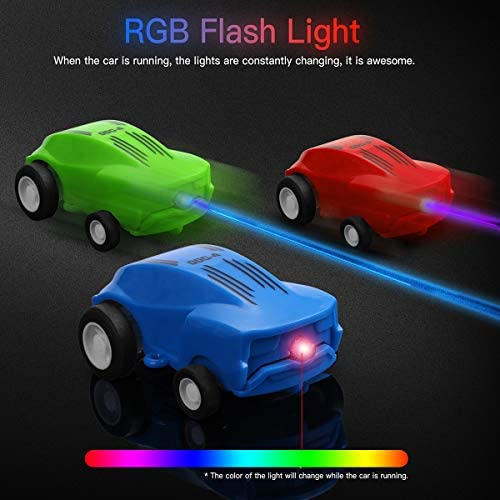 Lot of 2 NEW in box Laser Racers Blue StuntBall with USB Charger