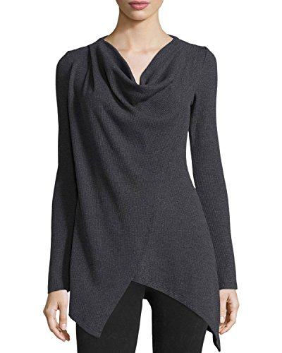 Medium Crossover (Marc New York Andrew Marc Womens Cross Over Sweater (Medium, Charcoal))