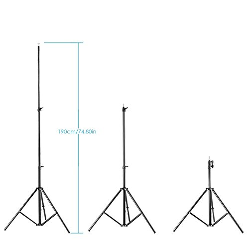 Neewer-2-Packs-Dimmable-Bi-color-480-LED-Video-Light-and-Stand-Lighting-Kit-Includes-3200-5600K-CRI-96-LED-Panel-with-U-Bracket-75-inches-Light-Stand-for-YouTube-Studio-Photography-Video-Shooting