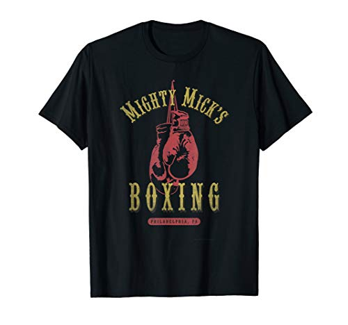 Mighty Mick's Boxing Gym Vintage Distressed and Faded Shirt