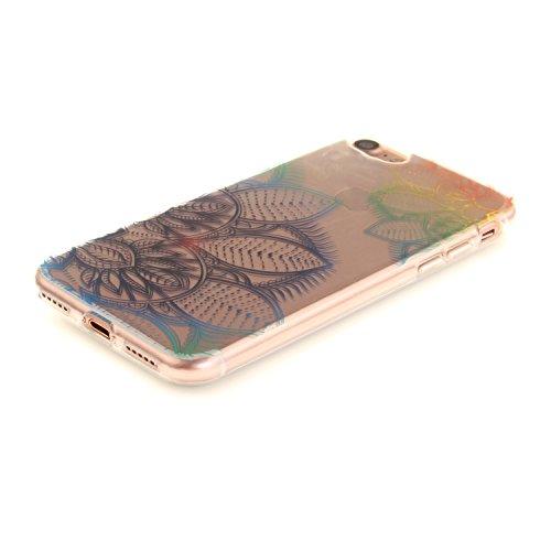 MOONCASE iPhone 7 Hülle Case,Slim Handyhülle Schutzhülle Rutschfestem TPU Soft Backcover Bumper Case für iPhone iPhone 7 TX35