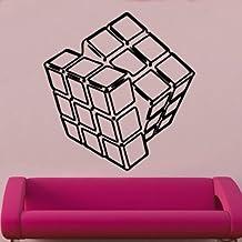 Rubik Cube Decal Wall Sticker (ret17)