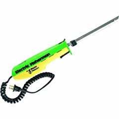 The Mister Twister electric knife 110V mister twister-1201 30% has more power. Features 50% more cutting torque and heavy-duty gears and bearings with a relaxed hand design.
