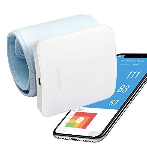 Smart Wrist Blood Pressure Monitor, Bluetooth Blood Pressure Cuff by iHealth