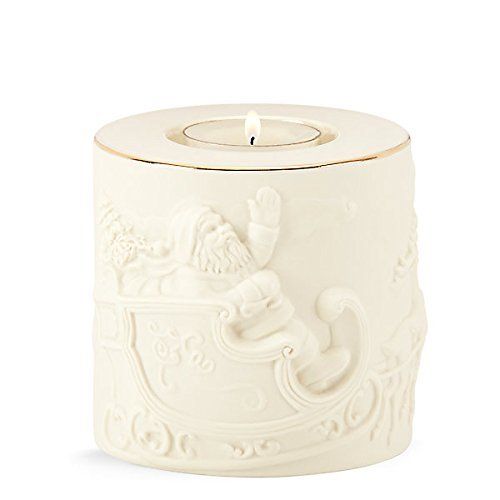 Lenox Radiant Light Santa (24k Gold Trimmed Tea)