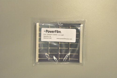 PF POWERFILM OEM Low-light Solar Module 50mA@4.8V (10/pkg) by PF POWERFILM