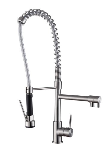 ruvati-rvf1290st-28-pre-rinse-spray-commercial-style-kitchen-faucet-stainless-steel