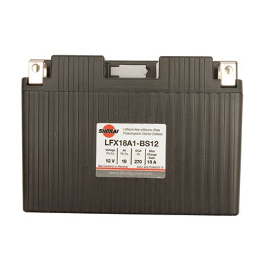 Shorai Lithium-Iron Battery LFX18A1-BS12 for Yamaha V-Max 1985-2007