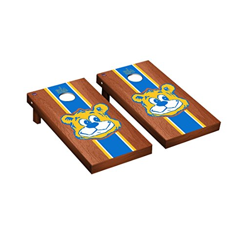 College Vault California Los Angeles UCLA Bruins Cornhole Game Set Rosewood Stained Stripe Version ()