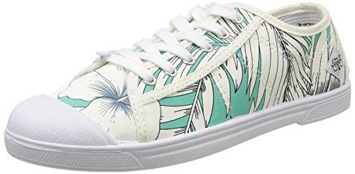 Le Temps des CerisesLtc Basic 02 - Zapatillas de deporte, Mujer Verde - Vert (Honolulu Mint)