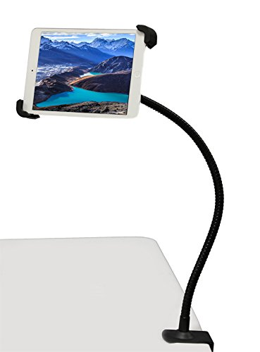 G10 Pro 360° Universal iPad Tablet Goose-neck Seat Bed Wheel Chair Desk Bolt Photo Booth Clamp Mount Stand and Holder - Diy Setup Photo Booth