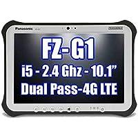 PANASONIC TOUGHPAD FZ-G1 FZ-G1P2636VM i5 2.4GHz, 4G LTE, 8MP Cam, 256GB SSD. 8GB Ram, Windows 10 Pro